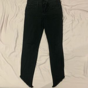 Joes jeans The Icon Skinny Ankle.  Black